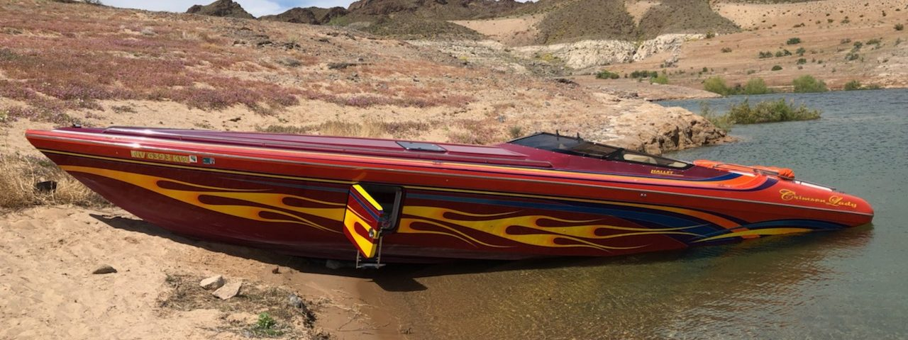 high performance go-fast boat for sale